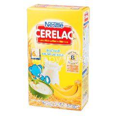 ซีรีแล็ค สูตรข้าวสาลี ผสมกล้วยบดและนม