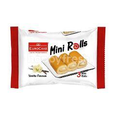 Eurocake Vanilla Mini Swiss Rolls
