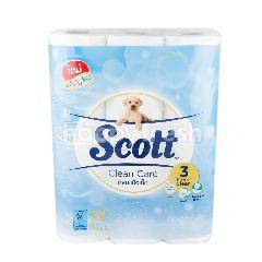 สก๊อตต์ คลีนแคร์ กลิ่นแป้งเด็ก กระดาษทิชชู่ (24 ม้วน)