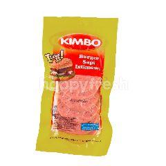 Kimbo Kitchen Burger Sapi Istimewa