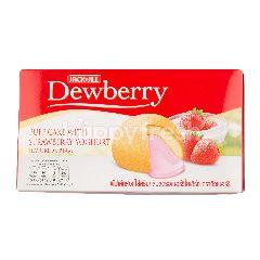 ดิวเบอร์รี่ พัฟเค้กสอดไส้ครีมกลิ่นสตรอเบอร์รี่โยเกิร์ต 17 กรัม (แพ็ค 6)