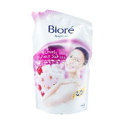 Biore Lovely Cherry Sakura Foam Sabun Badan Pouch
