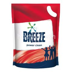 Breeze Detergent Liquid Power Clean Refill Pack 1.8kg