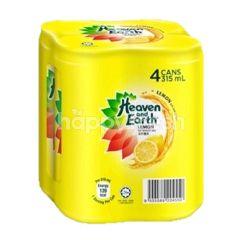 Heaven & Earth Ice Lemon Tea (4 Cans)