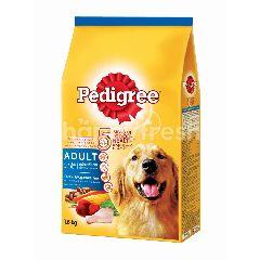 Pedigree Dog Dry Food Adult Chicken & Vegetable Flavour 1.5KG Dog Food