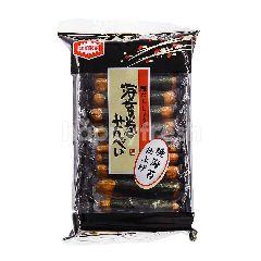 Kameda Norimake Senbei Rice Cracker With Seaweed
