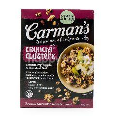 Carman's Sereal Crunchy Cluster dengan Buah Kranberi, Apel, dan Kacang Panggang