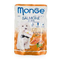 MONGE Grill Potongan Daging Ikan Salmon