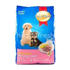 Smartheart Makanan Anak Anjing Rasa Daging & Susu