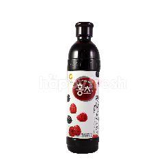 Korean Black Raspberry Vinegar Drink
