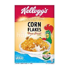 Kellogg's Sereal Kepingan Jagung dengan Kacang dan Madu