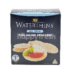 Waterthins Natural Fine Wafer Crackers