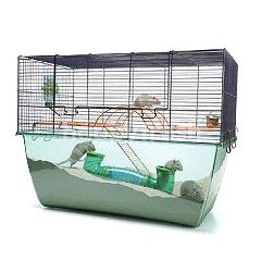 Savic Habitat X-Large Hamster (Navy Blue)