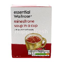 Essential Waitrose Minestrone Soup In A Cup