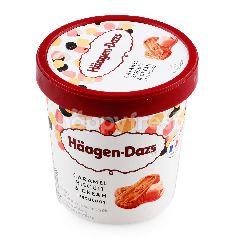 ฮ้าเก้น-ดาส คาราเมลบิสกิตแอนด์ครีม ไอศกรีม
