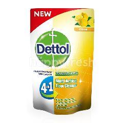 Dettol Pembersih Lantai 4 in 1 Multi Action Citrus