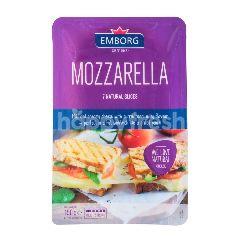 Emborg Natural Slices Mozzarella Cheese 150G