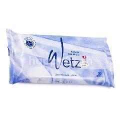 Wetz Tisu Basah Biru Natural