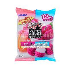 Orihiro Konnyaku Jelly Peach/Lychee