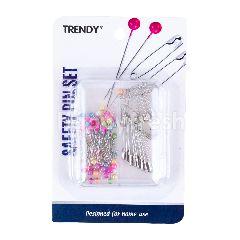 Trendy Safety Pin Set TRD 0303