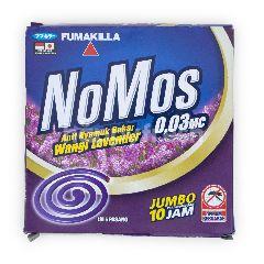 Nomos Anti Nyamuk Bakar Jumbo Aroma Lavender