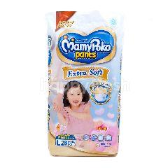 MamyPoko Popok Celana Bayi Perempuan Ukuran L