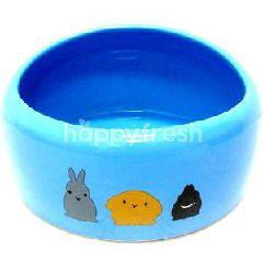 Trustie Small Animal Bowl (Blue) (Large)