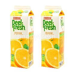 Marigold Peel Fresh Orange Juice Drink With Sacs Twinpack