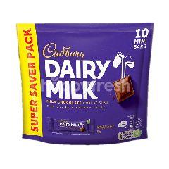 Cadbury Dairy Milk Chocolate Mini Bars (10pcs)