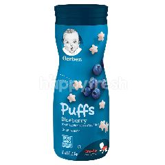 Gerber Graduates Puffs Cereal Snack - Blueberry