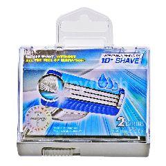 Gillette Mach3 Turbo Cartridges (2 Pieces)