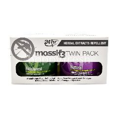 Mossif3 Twin Pack Herbal Extracts Repellent