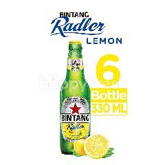 Bintang Radler Bir & Lemon (6 x 320ml)