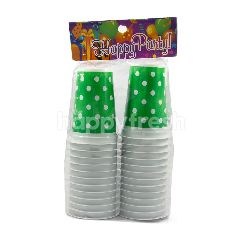 Happy Party Gelas Polkadot Plastik