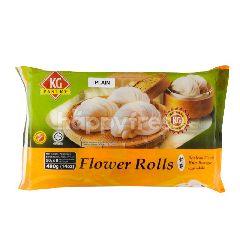 Kg Pastry Flower Rolls Bun Plain