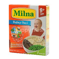 Milna Bubur Bayi Rasa Semur Daging Kacang Polong