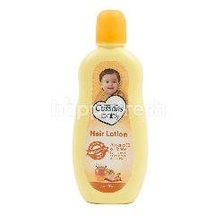 Cussons Losion Rambut untuk Bayi dengan Madu dan Minyak Almond