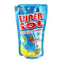 Super Sol Karbol Wangi Aroma Lemon Mint