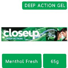 Close Up Deep Action Pasta Gigi Menthol Fresh