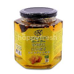 Hn Health & Nature Organic Raw & Pure White Honey