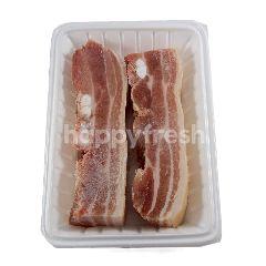 Daging Perut Babi dengan Kulit