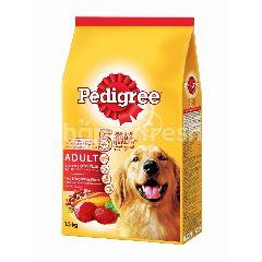 Pedigree Dog Dry Food Adult Beef & Vegetable Flavour 1.5KG Dog Food