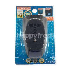 Kenmaster Steker Adaptor 04 B + Lampu Sensor