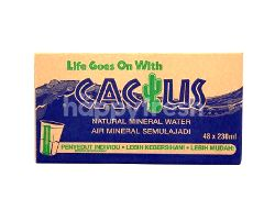 CACTUS Natural Mineral Water (48 Units)