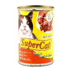 Best In Show Super Kucing Tuna dengan Daging dan Hati