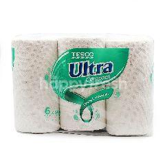 Tesco Ultra Compact Kitchen Towel (90 Sheets x 6 Rolls)