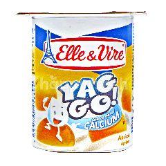 Elle & Vire Yaggo Yogurt Rasa Aprikot