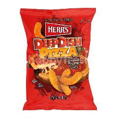 Herr's Deep Fish Pizza