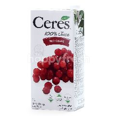 Ceresorganics Red Grape Juice