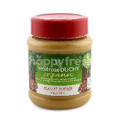 Waitrose Duchy Organic Crunchy Peanut Butter